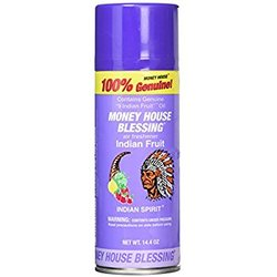 Commercially Made Money House Blessing Spray